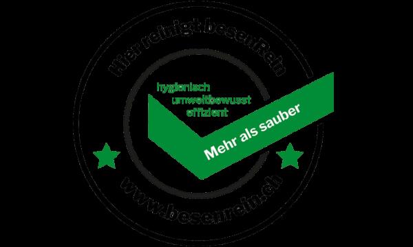 besenRein-Siegel – Qualitätssiegel für Hygiene und Sauberkeit