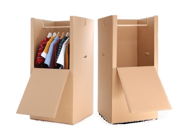Gratis Kleiderboxen mit dem Umzugscoach von besenRein