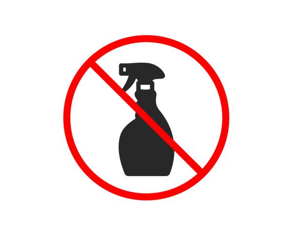 Verzicht auf Sprühflaschen zur Schonung der Umwelt